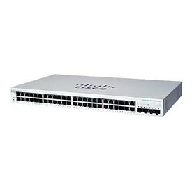 Cisco Business 220 Series CBS220-48T-4X - Switch - 48 Anschlüsse - Smart - an Rack montierbar