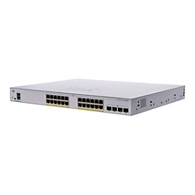 Cisco Business 350 Series 350-24FP-4G - Switch - 24 Anschlüsse - managed - an Rack montierbar