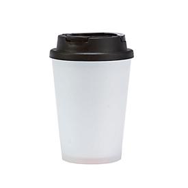 Coffee to go Becher, Weiß, Standard, Auswahl Werbeanbringung optional