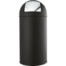Colector de residuos, negro, 40 l