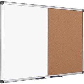 Combibord MAYA kurk/whiteboard, magnetisch, 600 x 450 mm