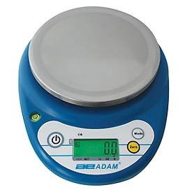 Compacte weegschaal serie CB, werkt op batterijen, incl. lcd-display, capaciteit 500 g
