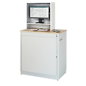 Computerstation type 6018, B 1030 x D 660 x H 1810 mm, stationair