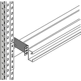 Consola PR 600, accesorios p. seguros de deslizamiento, p. profundidad marco 1100mm