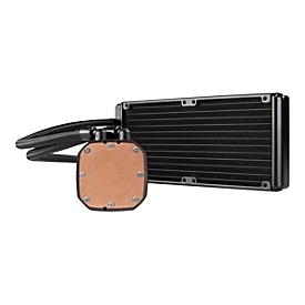 CORSAIR Hydro Series H100x High Performance Liquid CPU Cooler Prozessor-Flüssigkeitskühlsystem