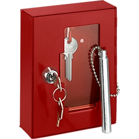 Cristal de repuesto, para caja para llaves de emergencia (para precintar)