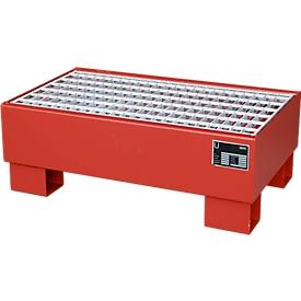 Cubeta colectora AW 60-1/M rojo RAL3000