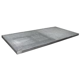 Cubeta para proteger superficies tipo BSW 23, transitable, galvanizado