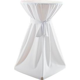 Cubierta de mesa de pie, blanca para ø 700 mm