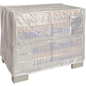Cubierta impermeable para caja de rejilla, sin cremallera, transparente