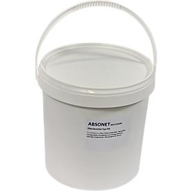 Cubo de granulado aglutinante Multisorb, grano grueso, 10l