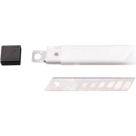 Cuchillas de repuesto, para el cuchillo de corte, 9 mm, 10 piezas