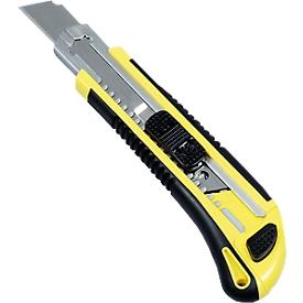 Cuttermesser, mit einziehbarer Klinge, Klingenbreite 18 mm