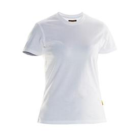 Dames T-Shirt Jobman 5265 PRACTICAL, SE 14-218, wit, M
