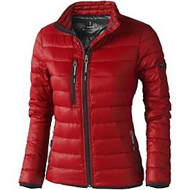 Daunenjacke für Damen, Rot, XS, Auswahl Werbeanbringung erforderlich