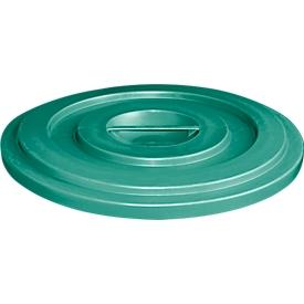 Deckel aus HDPE, 35 Liter, grün