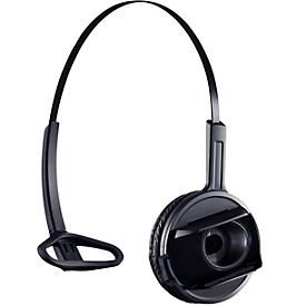 DECT-headset Sennheiser D 10 Phone, snoerloos/monogeluid, met telefoonadapter CEHS-AL01, 55 m bereik