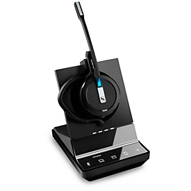 DECT-Headset Sennheiser SDW 5016, kabellos, monaural, UC-optimiert, Super-Wideband-Audio