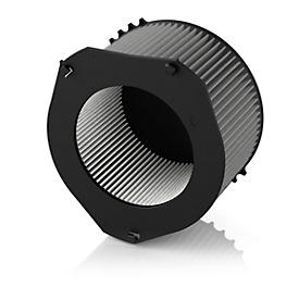 Deeltjesfilter voor luchtreiniger IDEAL AP 140 PRO, ronde vorm, verwisselbaar, zwart