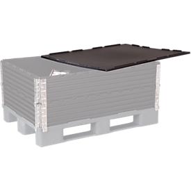 Deksel voor opzetframe voor pallets, 800 x 1200 mm