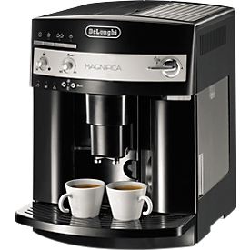 DeLonghi volautomatisch koffiezetapparaat Magnifica ESAM 3000 B, 1,8 l, zwart, met 1 kg koffiebonen gratis