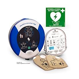 Desfibrilador HeartSine SAM 360P, DEA, 8 años de garantía, 4 años de cobertura de seguro
