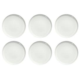 Dinerbord Solea plat, Ø 260 mm, effen, wit, Porselein, 6 st.
