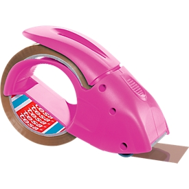 dispensador de cinta tesapack® pack'n'go, rosa