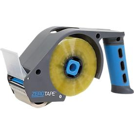 Dispensador manual ZeroTape®, para ruedas W 48 mm x L 160 m, rollos tranquilos, azul