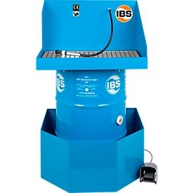Dispositivo de limpieza de piezas tipo K (sin barril ni cubeta)