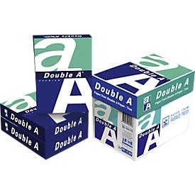 Double A kopieerpapier, A3, 80 g/m², zuiver wit, 1 doos = 5 x 500 vel