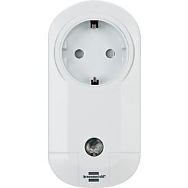 Draadloos stopcontact Brennenstuhl, wit, afstandsbesturing van elektrische apparaten, 100 m bereik