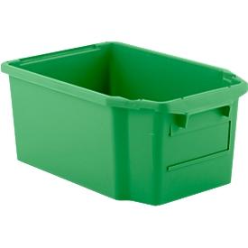Draaistapelbak FB 600, 40 l, groen