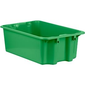 Draaistapelbak FB 601, 30 l, groen
