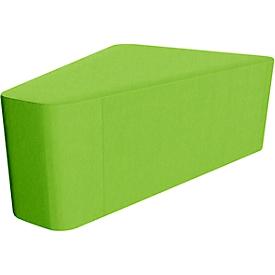 Dreieck Wall In, grün