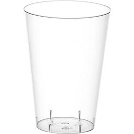 Drinkbeker glashelder 0,3 liter, 50 stuks