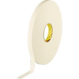 Dubbelzijdige polyetheen schuimtape, wit