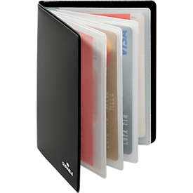 Durable creditcardetui RFID SECURE, voor 8 kaarten, kunststof