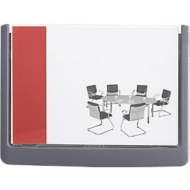 DURABLE deurbord CLICK SIGN, 149 x 105,5 mm, 5 stuks, grafiet