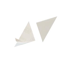 DURABLE Dreiecktaschen, Rückenbreite 75 mm, selbstklebend,100 Stück