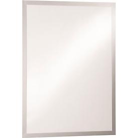 DURABLE DURAFRAME® posterframe, A2, zilver