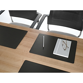 DURABLE Duraglas® Schreibunterlage für Konferenzräume, schwarz
