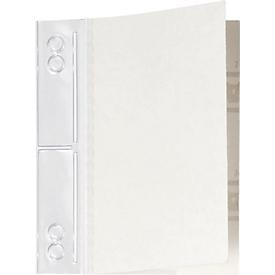 DURABLE Filefix® maxi, pvc, zelfklevend, 50 st., transparant