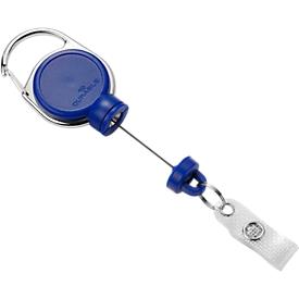 Durable Jojo Extra Strong, für schwere Kartenhalter o. Schlüssel, mit Clip, L 600 mm, blau