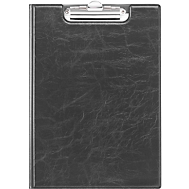 DURABLE klembord PREMIUM, A4, leder-look, zwart