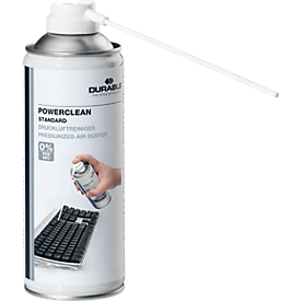 DURABLE persluchtspray Powerclean, 400 ml