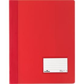 DURABLE Premium presentatiemap, voor A4, hard pvc, 25 stuks, rood