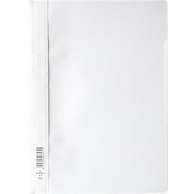 DURABLE Sichthefter mit Abheftung, DIN A4, Polypropylen, 50 Stück, weiß
