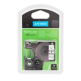 DYMO® D1-Hochleistungsband, flexibel, B 12 mm