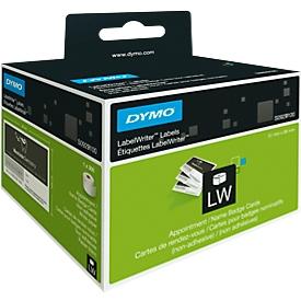 DYMO LabelWriter, Afspraak-/naambadges-etiketten, niet klevend, 51 x 89 mm, 300 stuks
